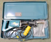 Makita JR3000 Reciprocating Saw & Case 110V.