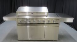 Stainless Steel 6 Burner Gas BBQ Auction - various configurations (shipping is available via pallet)