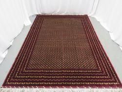 Khal Mohammadi 'Khawaja Roshnai' Afghan rug measures 3.5m L x 2.5m W