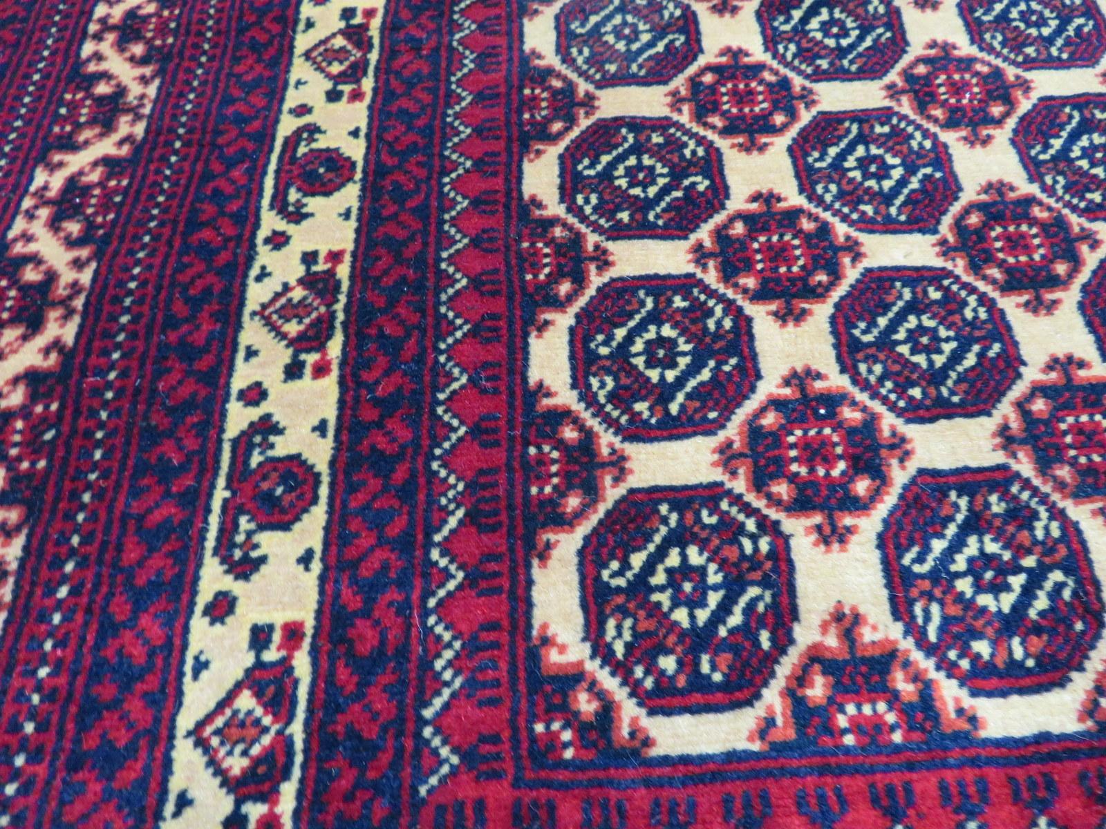 Lot 1 - Khal Mohammadi 'Khawaja Roshnai' Afghan rug measures 3.5m L x 2.5m W