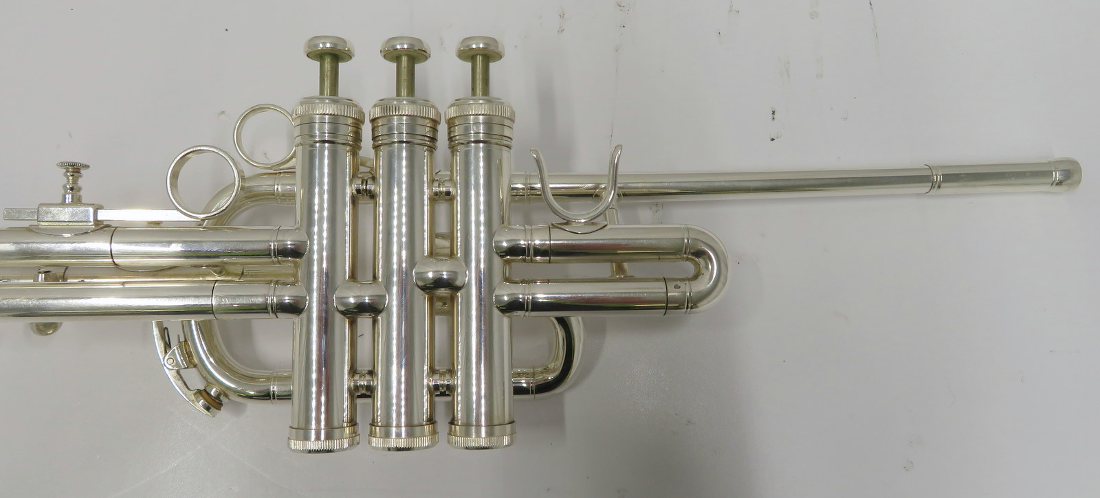 Lot 23 - Besson BE706 International fanfare trumpet with case. Serial number: 885983.