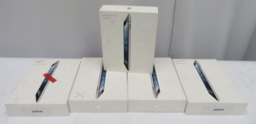 5x 32GB Ipads. Spares or repairs.