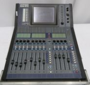 Allen & Heath iLive R72 mixing console in flight case. Serial number: ILR72-720688.