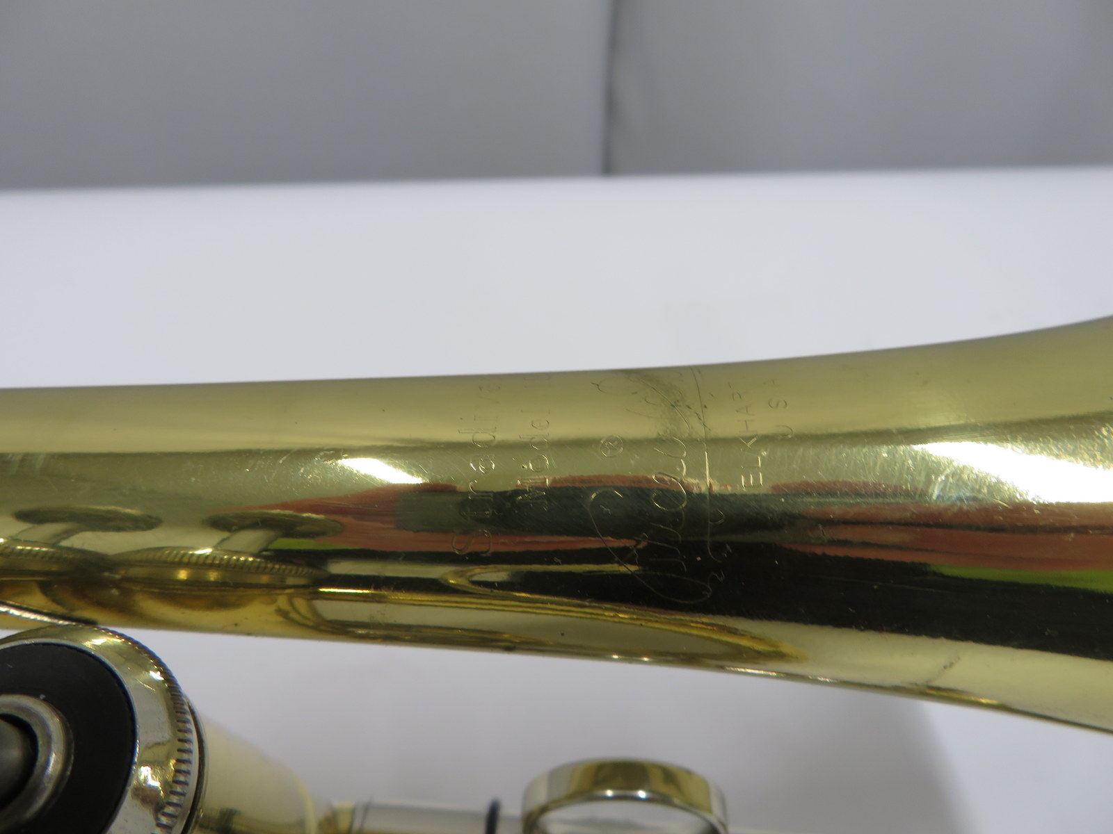 Lot 28 - Bach Stradivarius model 184 cornet with case. Serial number: 509182.