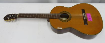 Washburn Enrique Tapicas model CATS acoustic guitar. Serial number: 95120190.