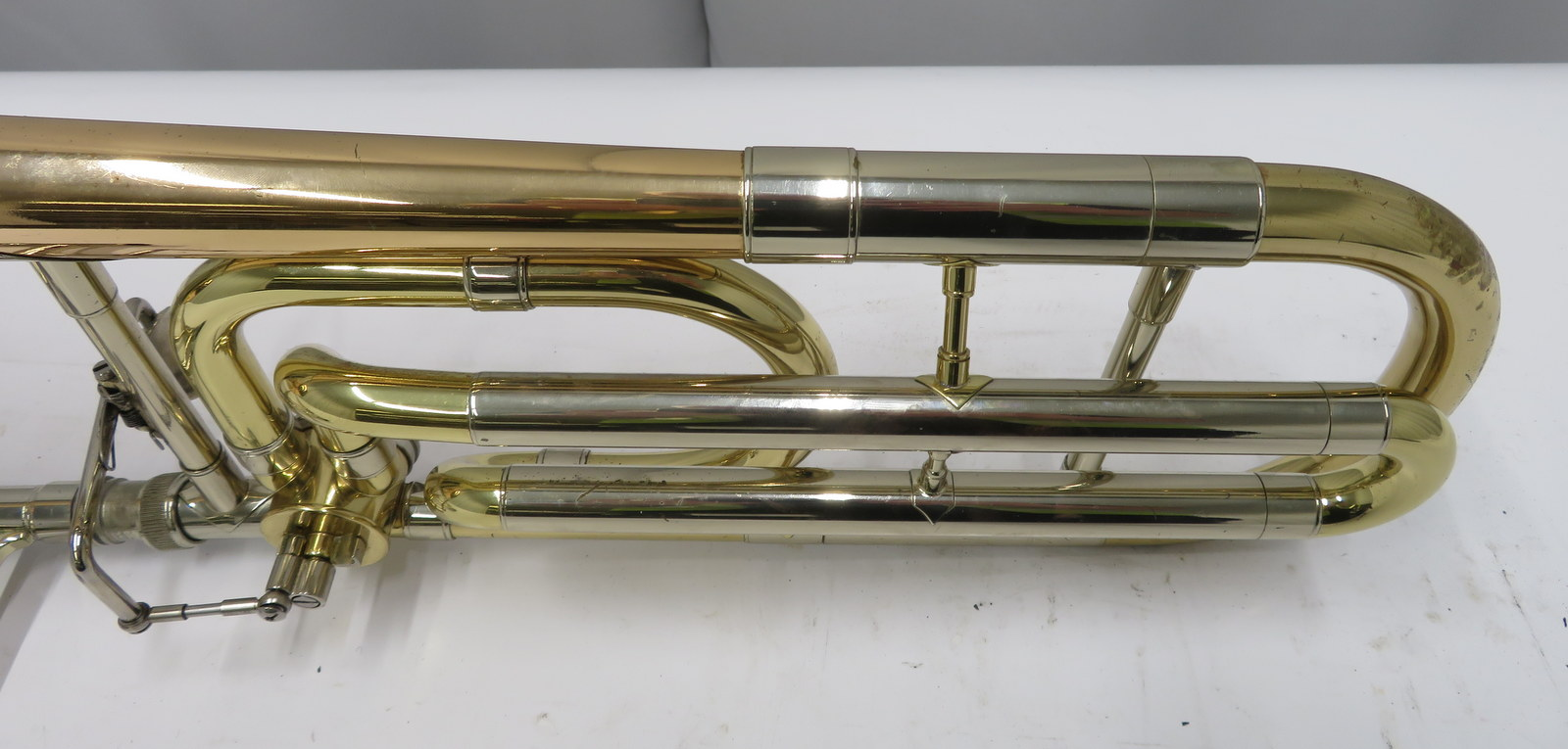 Lot 55 - Antoine Courtois Legend AC440 trombone with case. Serial number: 41482.