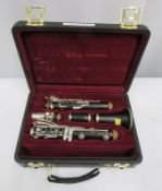 Buffet Crampon R13 clarinet with case. Serial number: 654916.