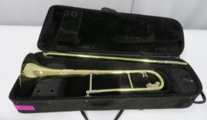 Rath R4 trombone with case. Serial number: R4158.