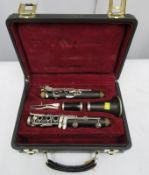 Buffet Crampon L Green clarinet with case. Serial number: 477678.