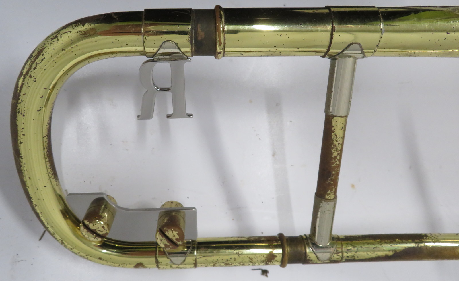 Lot 50 - Rath R4 trombone with case. Serial number: R4144.