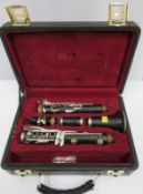 Buffet Crampon R13 clarinet with case. Serial number: 450591.