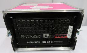 Allen & Heath iDR-32 audio mix rack. Serial number: IDR32X 315989.