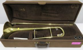 Rath R4 trombone with case. Serial number: R4138.