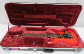 Ibanez Prestige electric guitar with hard case. Serial number: F1215502.