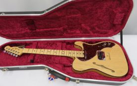 Fender Telecaster electric guitar with case. Serial number: US16128350.