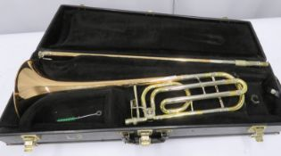 Conn 88H trombone with case. Serial number: 206181.