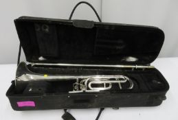 Bach Stradivarius model 42 trombone with case. Serial number: 96593.