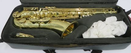 Henri Selmer 80 super action series 2 tenor saxophone with case. Serial number: N.613456.