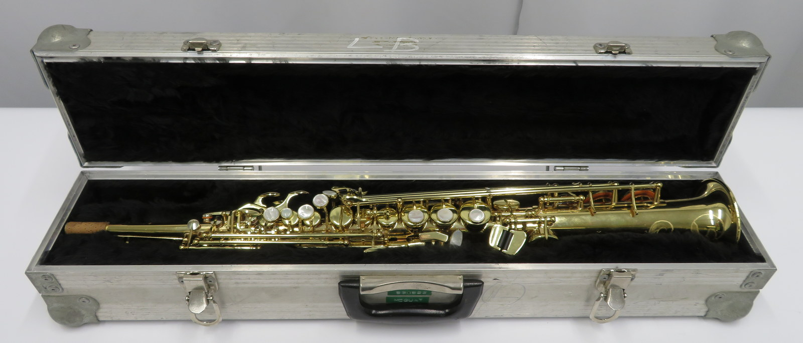 Lot 4 - Henri Selmer 80 super action series 2 soprano saxophone with case. Serial number: N.530523.