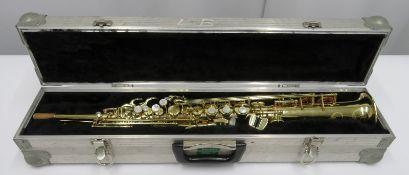 Henri Selmer 80 super action series 2 soprano saxophone with case. Serial number: N.530523.