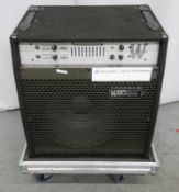 Warwick WBC300 guitar bass amp. Serial number: BC30000784.