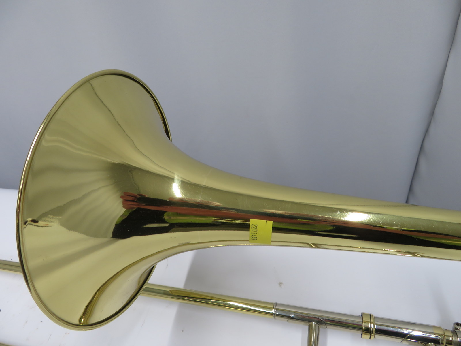 Lot 38 - Rath R4 trombone with case. Serial number: R4138.