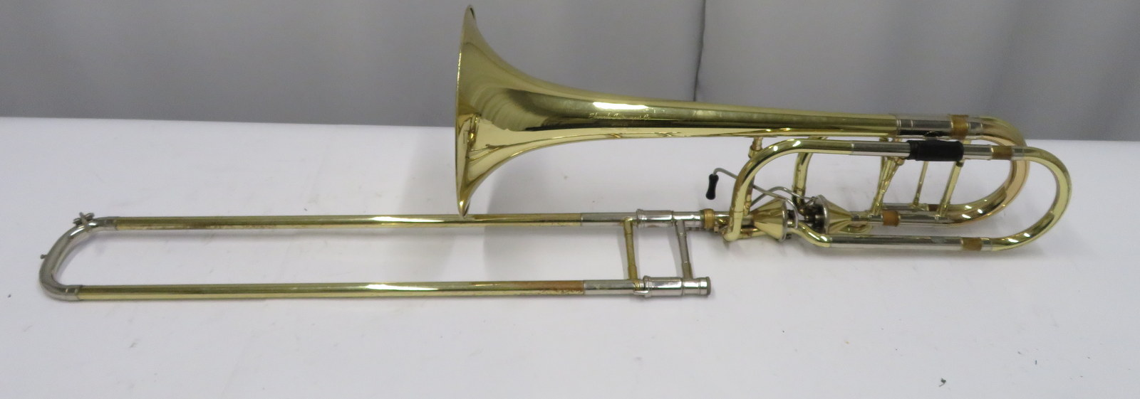 Lot 43 - Edwards Instruments 1119CF trombone with case. Serial number: 0907037.