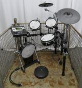 Roland KD-120 electronic drum kit set (possibly incomplete).