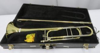 Conn 88H trombone with case. Serial number: 333952.