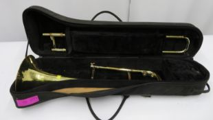 Rath R4 trombone with case. Serial number: R4144.