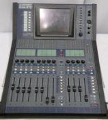 Allen & Heath iLive-R72 mixing desk in flight case. Serial number: 720762.