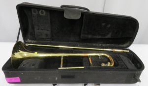 Rath R4 trombone with case. Serial number: R4140.