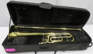 Bach Stradivarius model 42 trombone with case. Serial number: 99899.