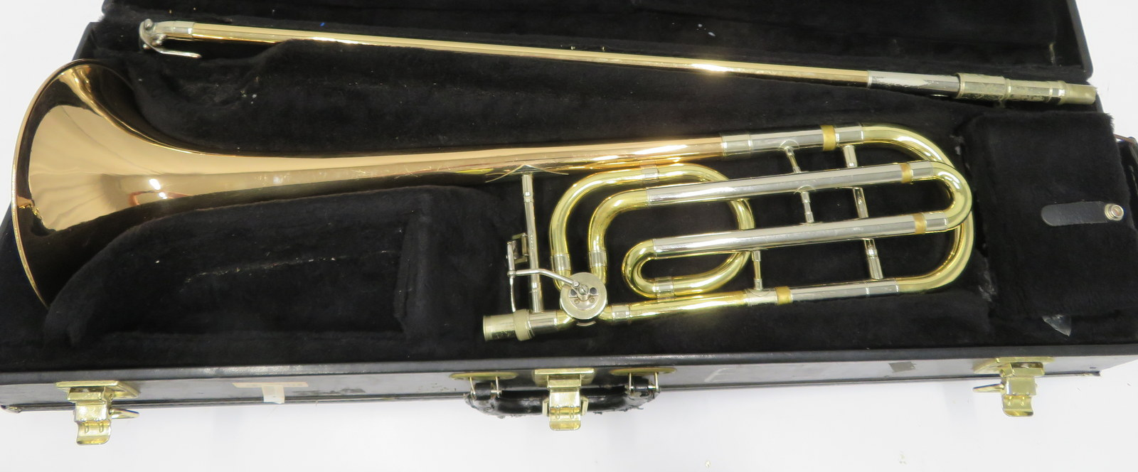 Lot 58 - Conn 88H trombone with case. Serial number: 246631.
