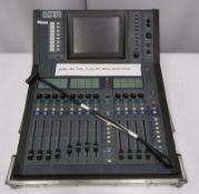 Allen & Heath iLive-R72 mixing desk in flight case. Serial number: 720481.