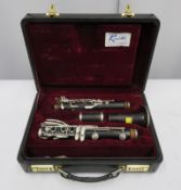 Buffet Crampon R13 Prestige clarinet with case. Serial number: 587000.