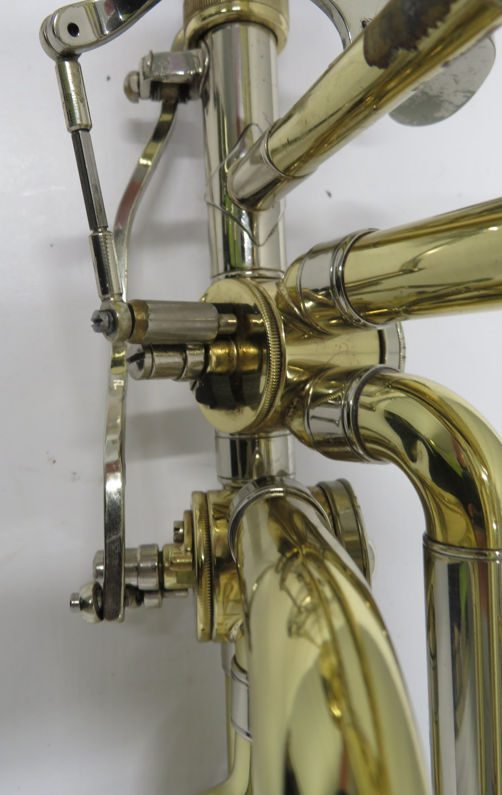 Lot 47 - Bach Stradivarius model 50B bass trombone with case. Serial number: 63310.