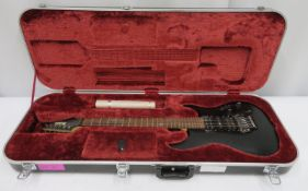 Ibanez Prestige electric guitar with hard case. Serial number: F0916015.