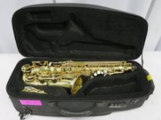 Henri Selmer 80 Super Action Serie 3 alto saxophone with case. Serial number: N.622903
