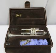 Bach Stradivarius model 37 ML trumpet with case. Serial number: 526621.