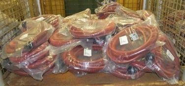 40x Mirka Vacuum hoses 1.8M x 28mm - MPA0412