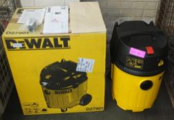 DeWalt D27901 Vacuum Cleaner 240v