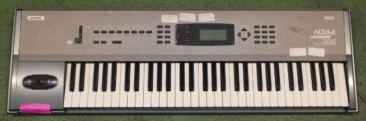 Korg N364 Electric Keyboard with Case