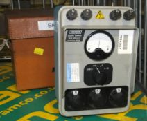 Megger Earth tester Null Balance with carry case
