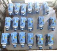 18x Blakley Electronics 16A-6h/200-250v-2P+ junction boxes