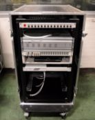 Surveillance / Monitoring System in 2 cases 650x940x1200mm & 700x340x430mm - Contents may