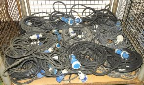 20x Various Lengths 240v External Extension Cables