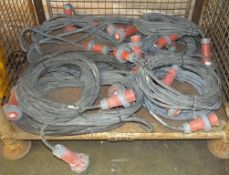 10x Electrical Extension Cable 5-Pin