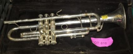 Bach Stradivrius 37 Trumpet - Cased in need of repair