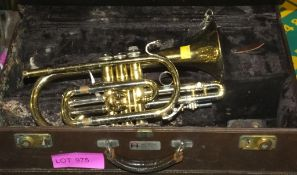 Bach Stradivrius 184 Cornet - Cased in need of repair